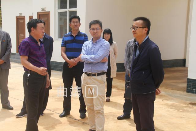 省委组织部到三宝街道长坡村委会开展专题调研