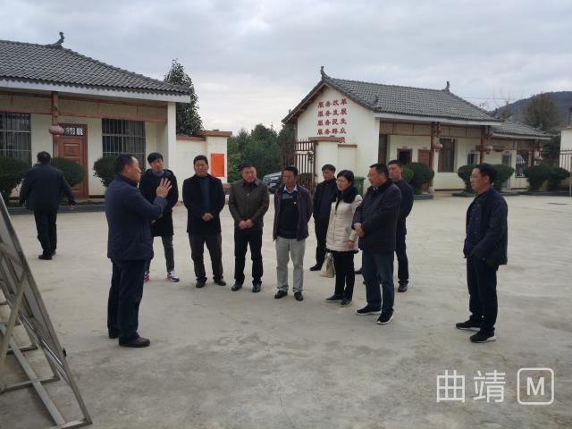 维西县委组织部到麒麟区交流学习