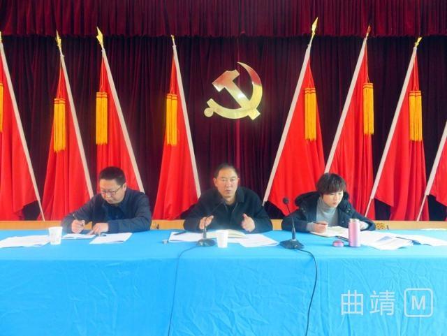 越州镇启动主题实践活动 - 基层党建 - 曲靖市麒麟区