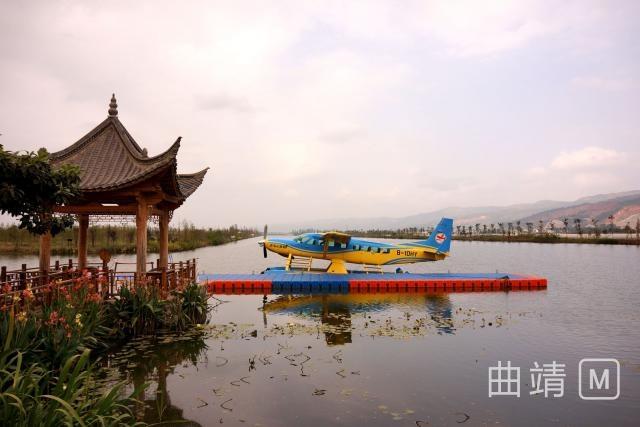 董保同到麒麟水乡调研水上飞机旅游观光项目
