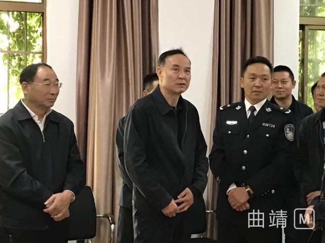 """李文荣到益宁街道检查指导""""十九大""""期间基层综治工作"""