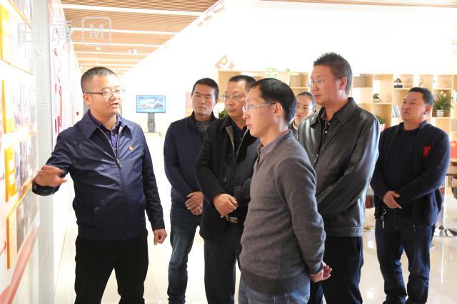 省委组织部到白石江街道检查指导城市基层党建工作